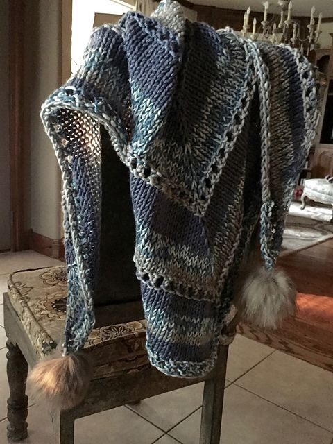 Ravelry Amplified Shawl Pattern By Jan Ros For In Knit Free