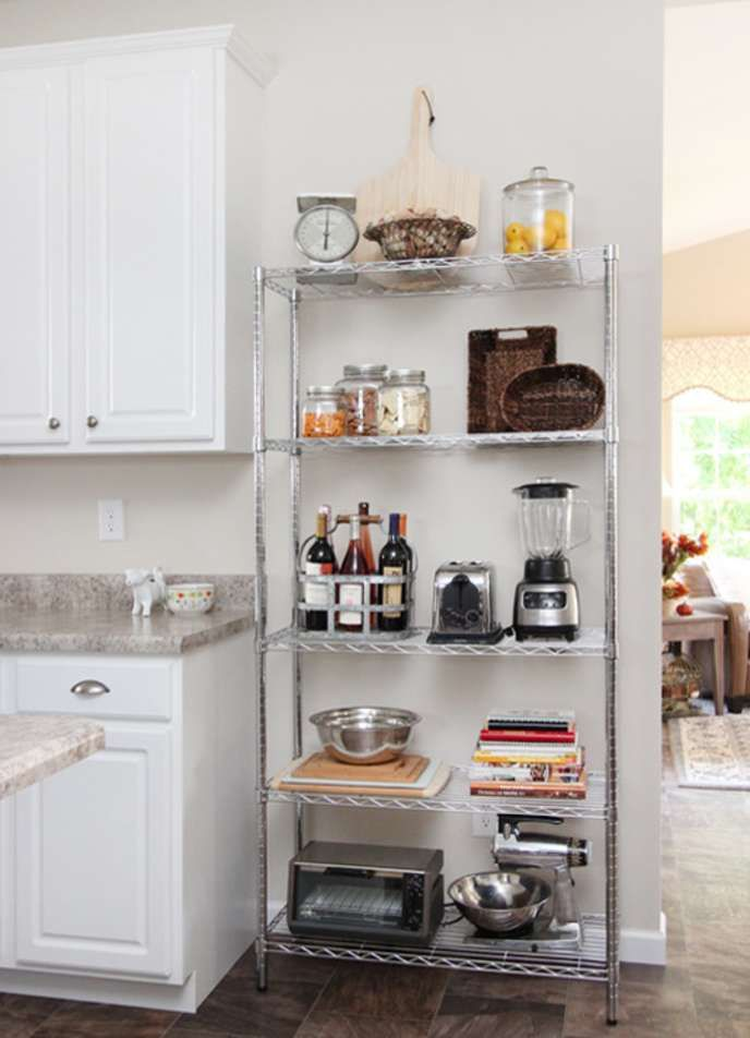 10 No Fuss Cheap Ways To Completely Transform Your Kitchen Apartment Kitchen Organization Rental Kitchen Small Kitchen Storage
