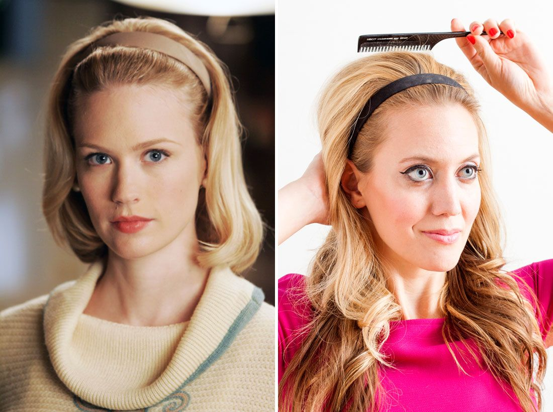 Mad Men Hairstyles Women