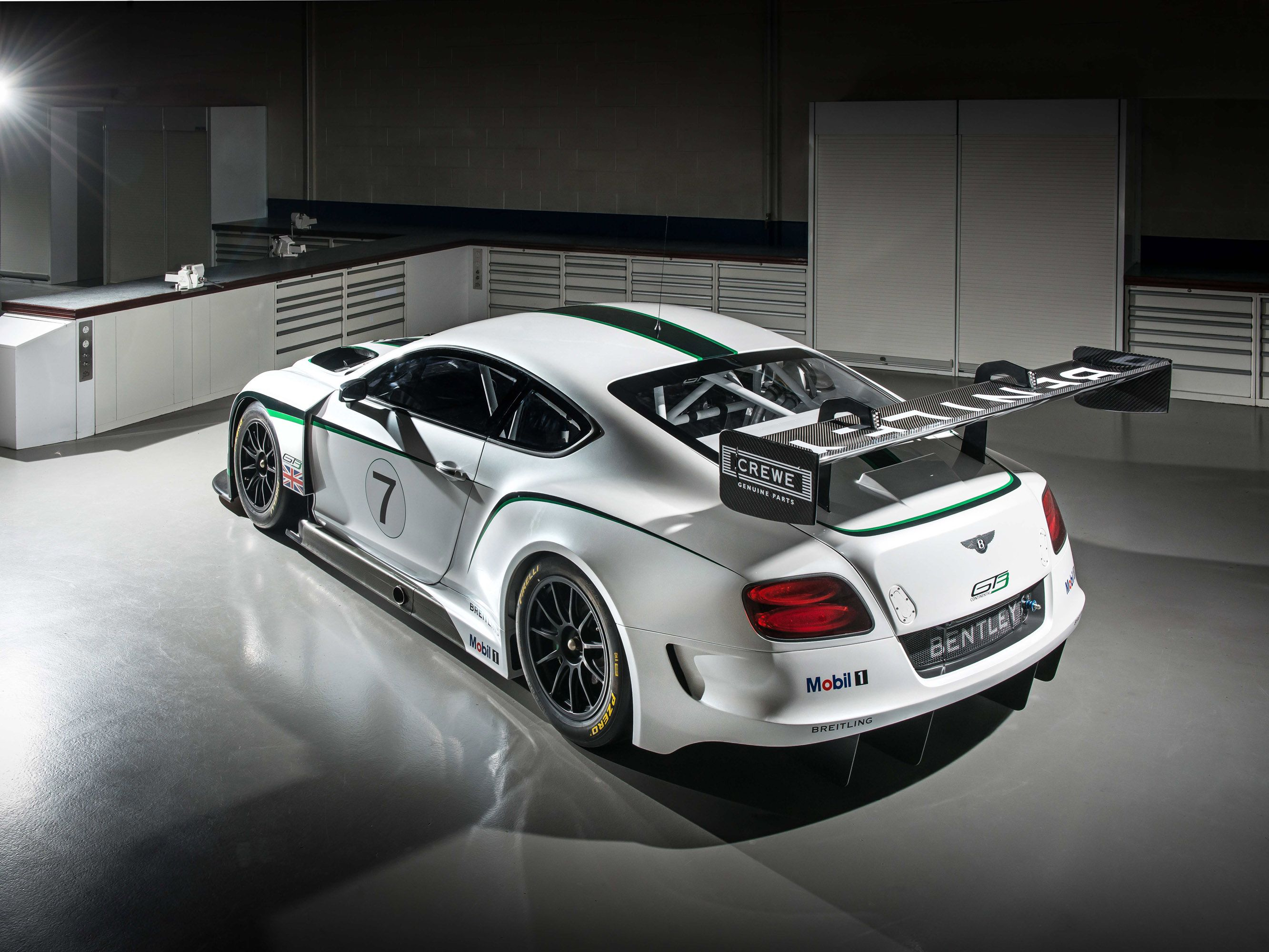 Bentley Continental GT3 Race Car Picture #9