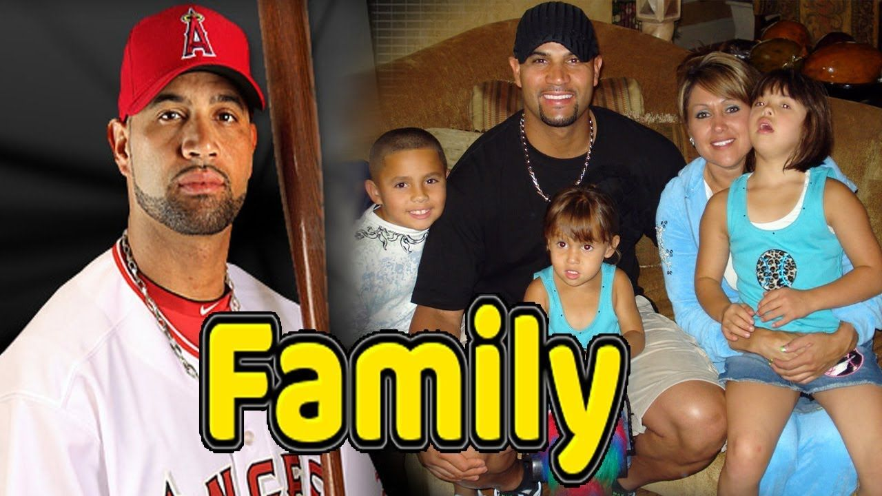 Albert Pujols Family Photos With Daughter Son And Wife Deidre Pujols 2018 Sports Gallery Albert Pujols Famous Sports