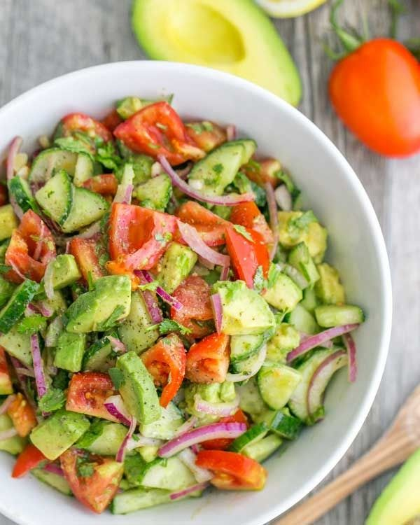 20 Awesome Salad Recipes Without Lettuce Avocado Salad Recipes
