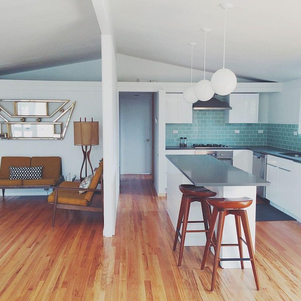 Modern mid century kitchen remodel ideas (67) | Kitchen | Pinterest ...