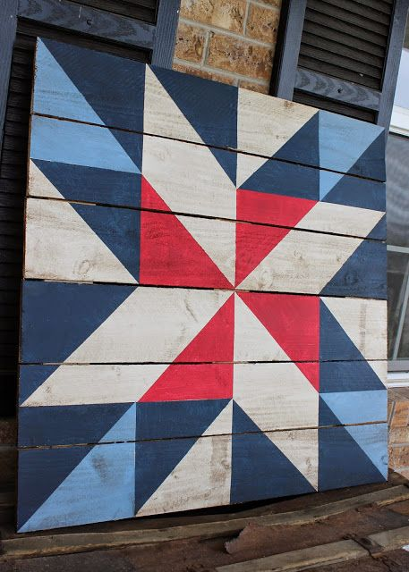 Tweetle Dee Design Co How To Make A Barn Quilt Fabulous Tutorial Now To Pick A