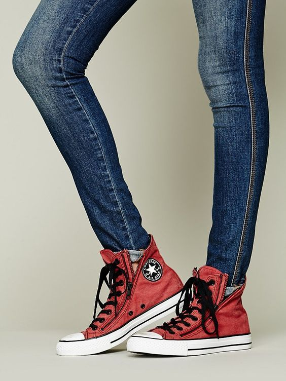 Image result for people wearing Converse Chuck Taylor Double