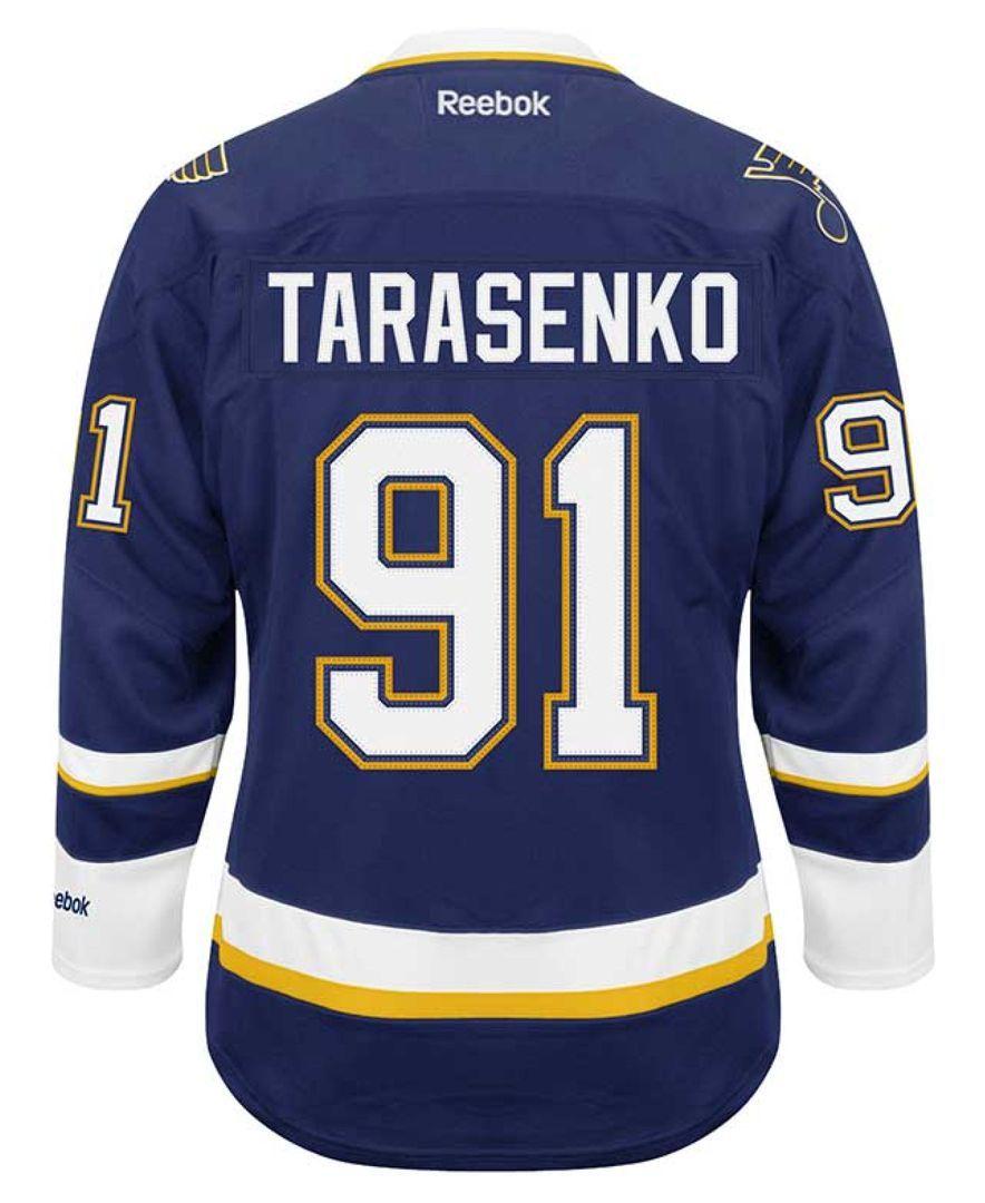info for e3999 b4cd6 Reebok Men's Vladimir Tarasenko St. Louis Blues Premier ...