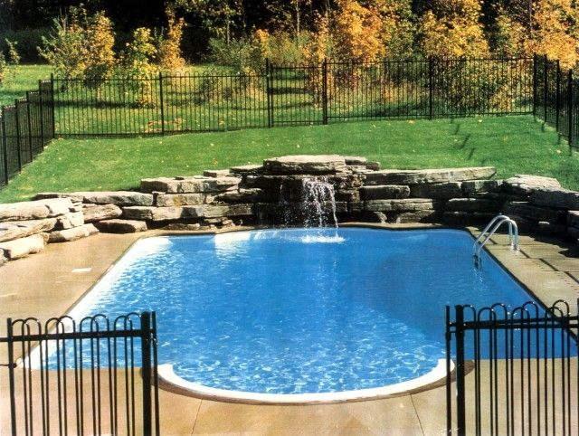 Roman style pool landscape st louis www for Roman style pool design