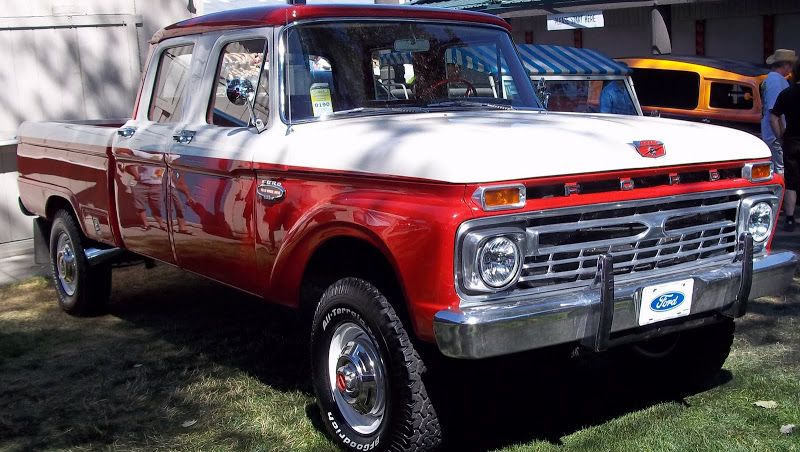 Ford Truck Enthusiasts >> 1965 Ford Truck Photos 66 F250 Crew Cab Ford Truck Enthusiasts
