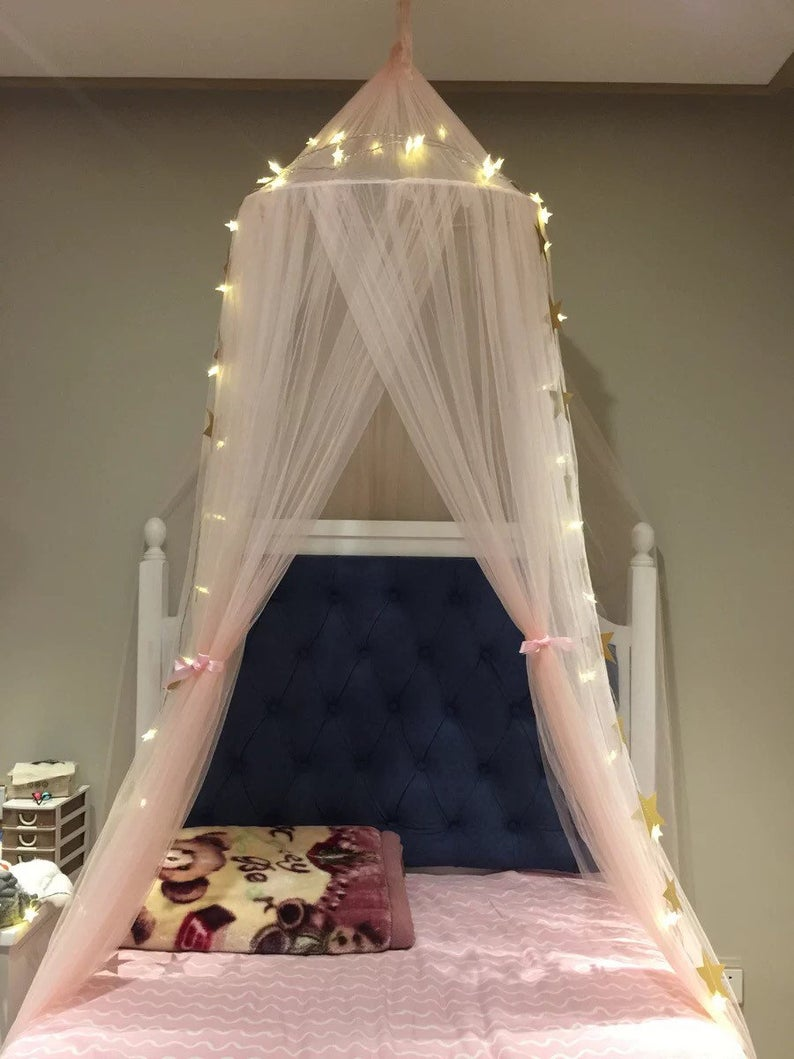 Light up Kids Canopy ,Bed Canopy Hanging Play Ten