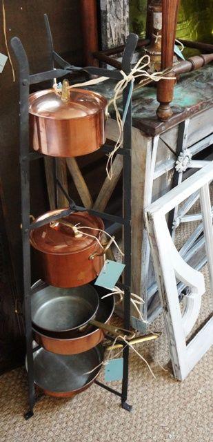French Iron Pot Rack