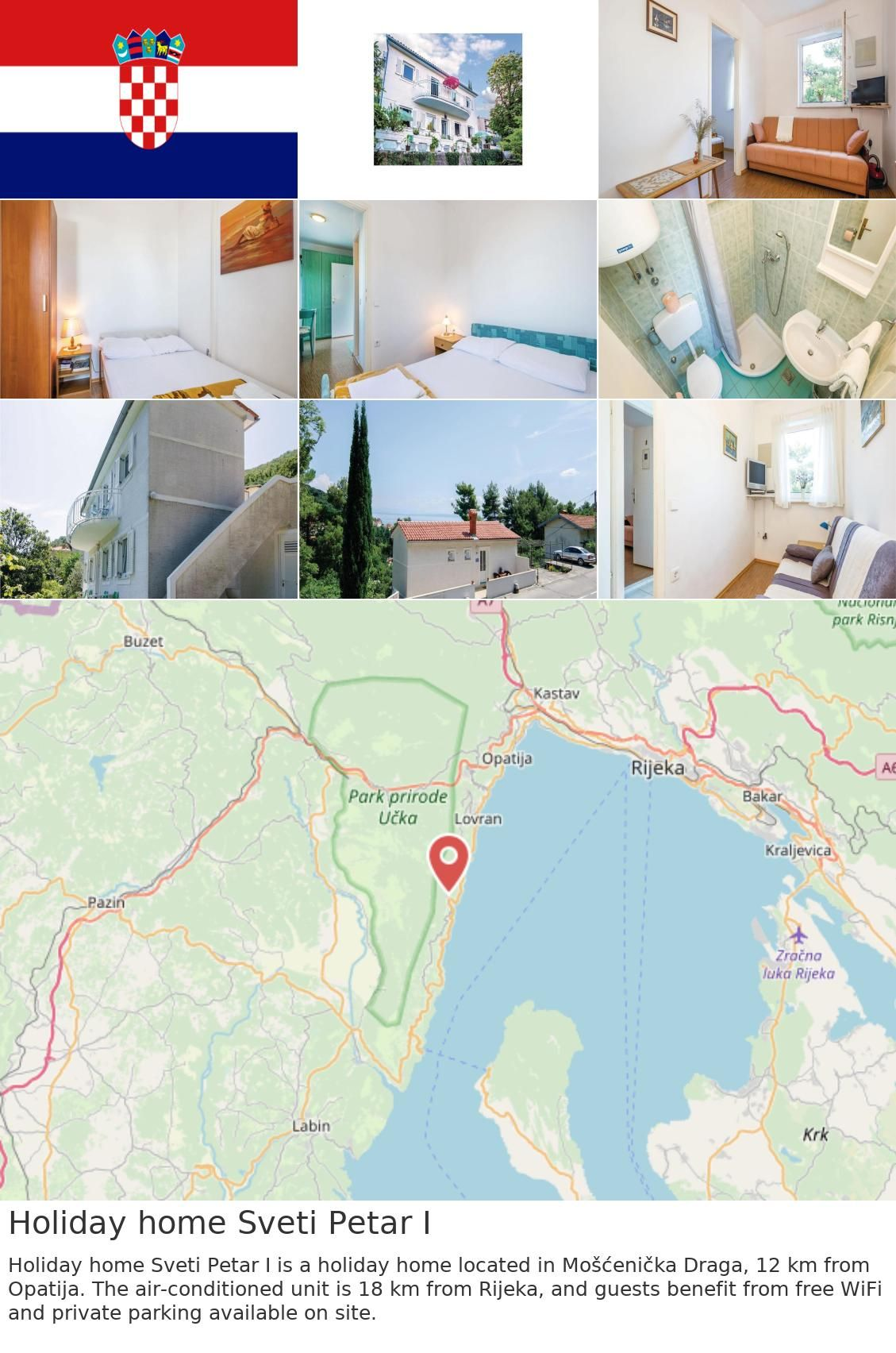 Europe Croatia Moscenicka Draga Holiday Home Sveti Petar I Holiday Home Sveti Petar I Is A Holiday Home Located In Moscenicka Draga 12 Km From Opatija The