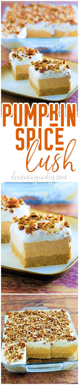 Pumpkin Spice Lush – Easy No-Bake Layered Dessert Recipe