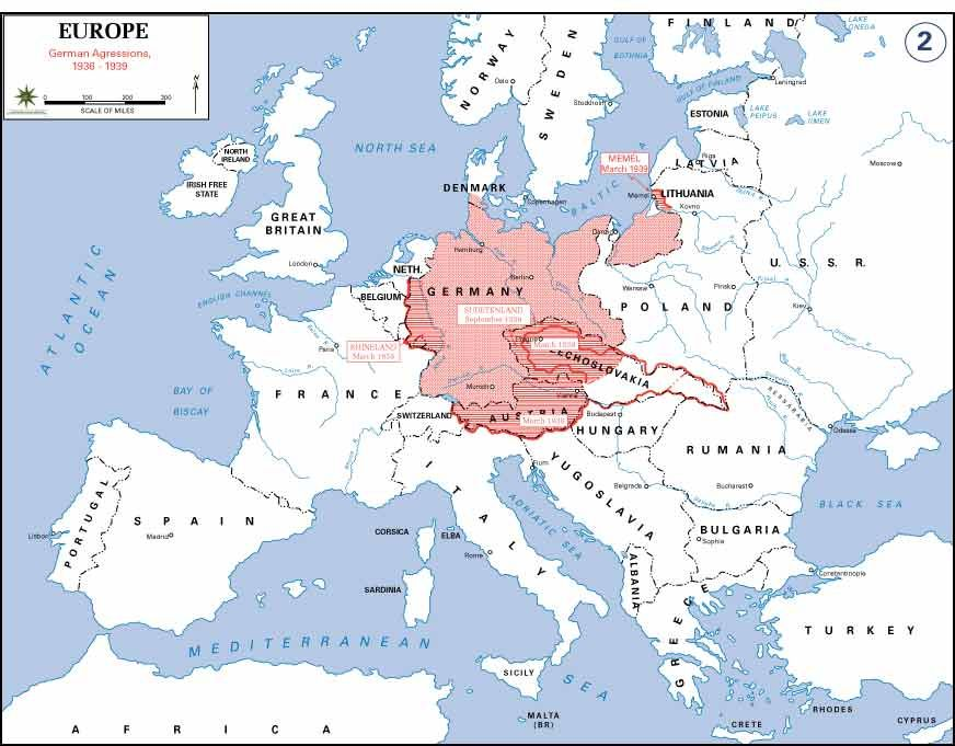 A Map Of German Expansion During Wwii Maps Historical Maps Map