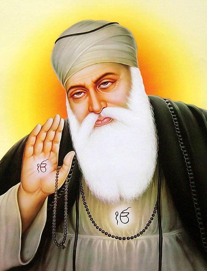 Pin On Guru Baba nanak hd wallpaper
