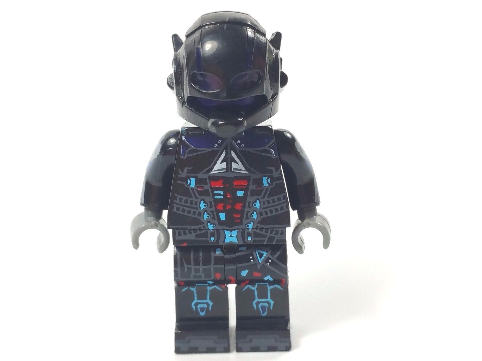Custom minifigure dc superhero arkham knight with free lego brick uk ebay