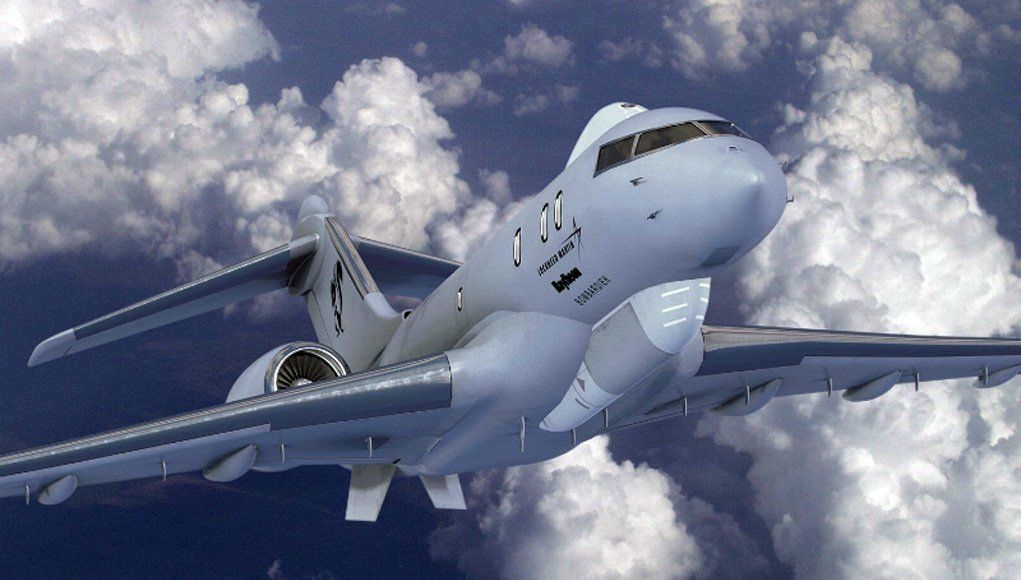 Business Jets As Alternative For The E 8c Jstars In 2020 Lockheed Spy Plane Aviation Airplane