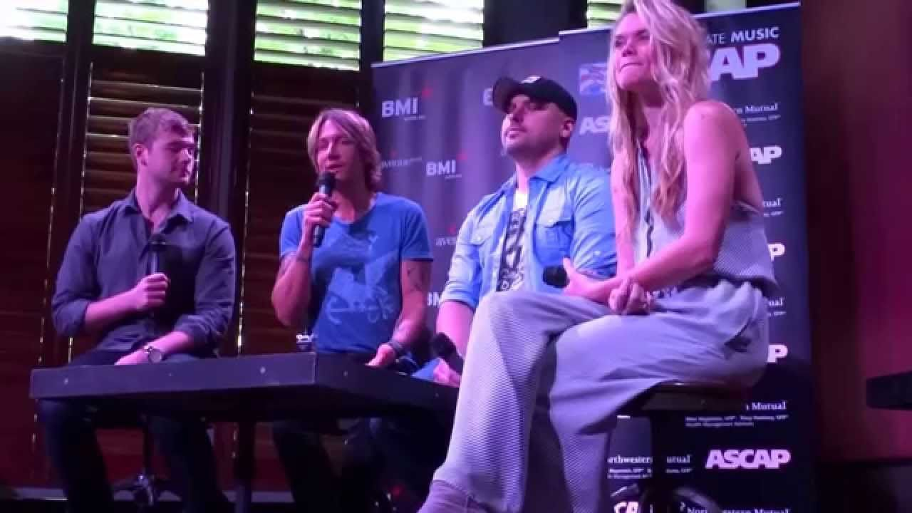 """Keith Urban #1 Party for """"We Were Us"""" Press Conference"""
