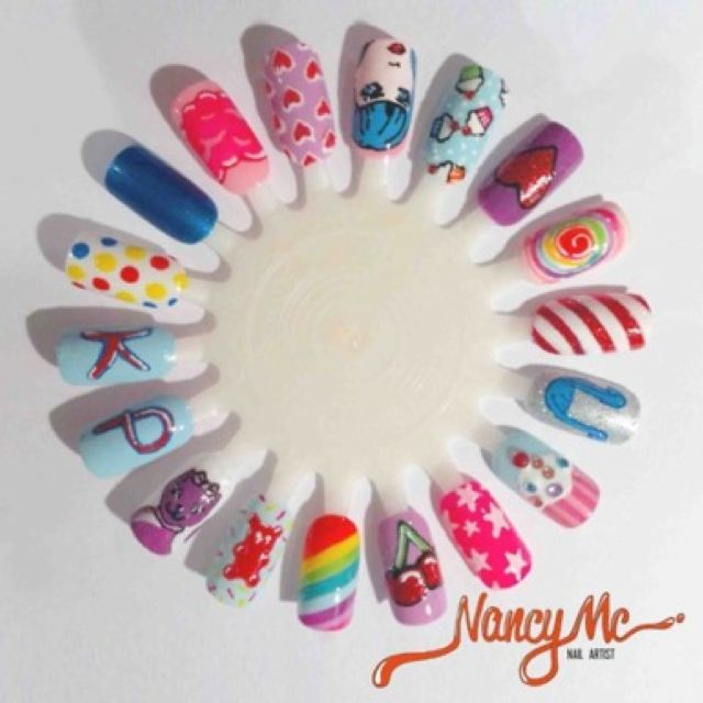Nancy mc nail artist - Katy perry nails Visit my site Real Techniques brushes -$10 http://samanjoin.wordpress.com/2014/01/07/real-techniques-brushes-samantha-chapman/