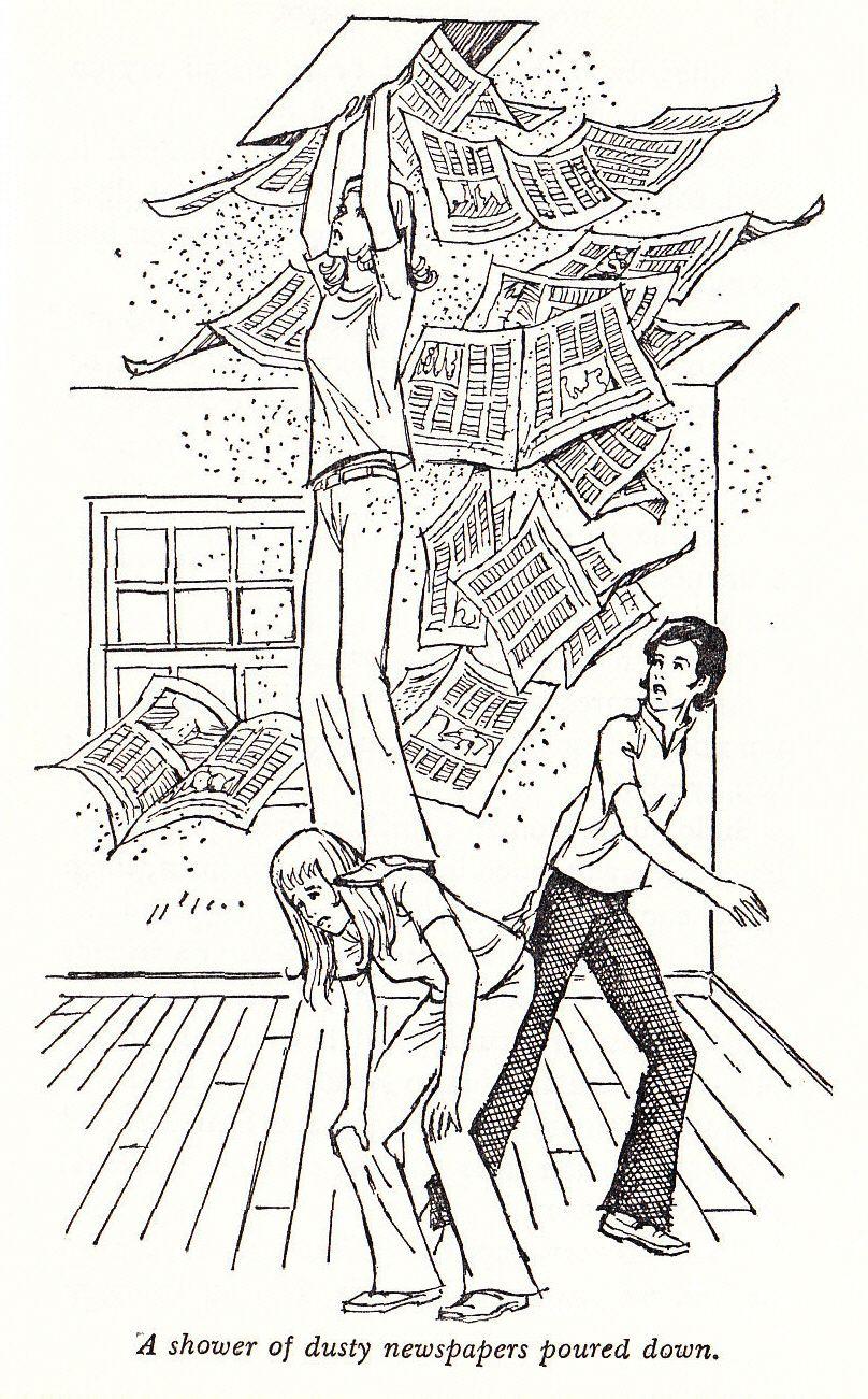 Nancy Drew #33, The Witch Tree Symbol, 1975 internal illustration ...