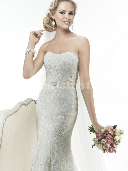 Maggie+Sottero+abigail | Home Maggie Sottero Maggie Sottero Abigail Lace wedding gown