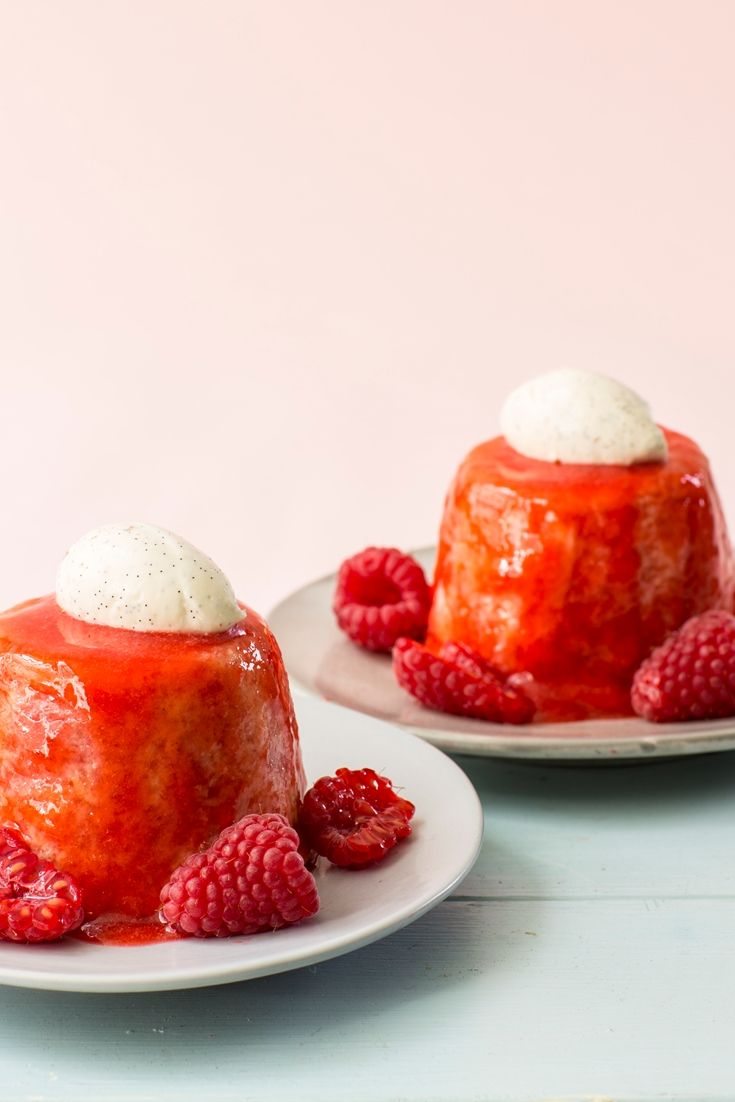 Raspberry Summer Pudding. Easy Summer DessertsLight ...