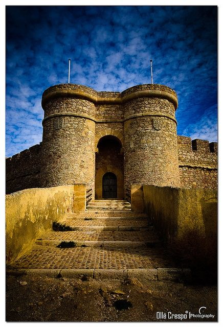 Castillo de Chinchilla Montearagn, Albacete, Spain