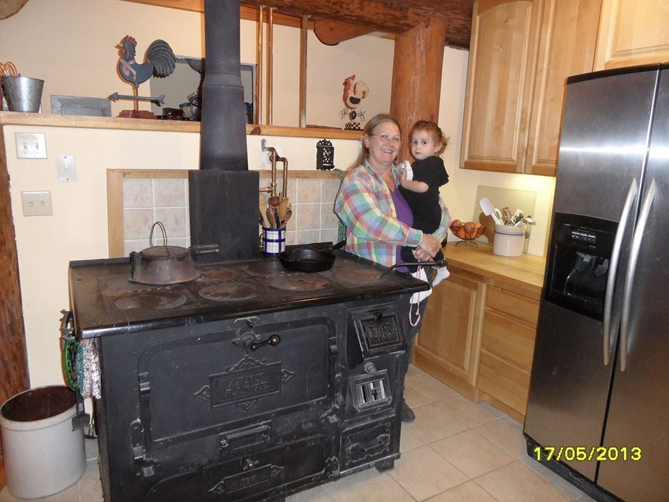 An awesome article on How To Use A Wood Cook Stove. She has so ...