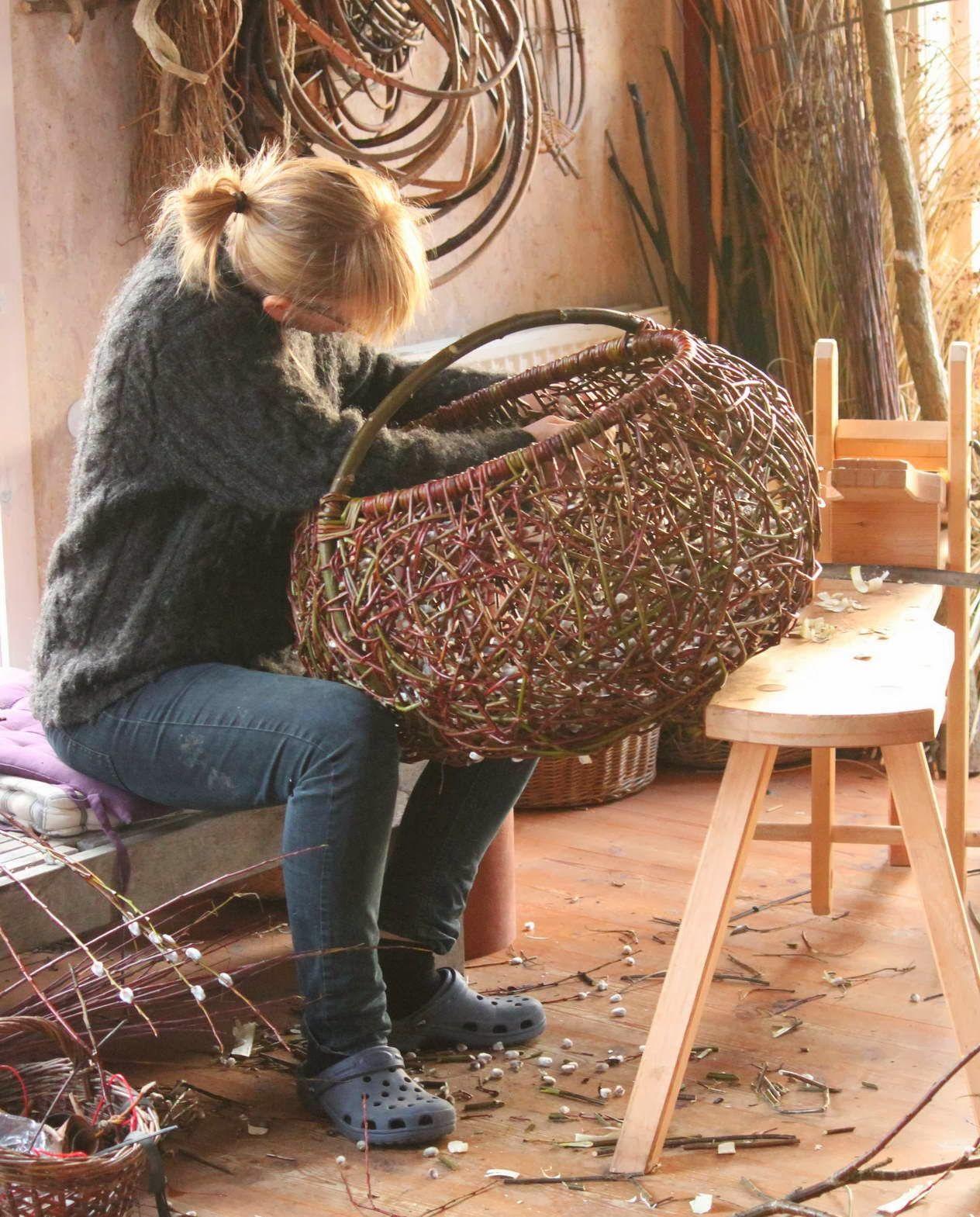 weaving willow basketry weaving pinterest weiden flechten und weiden flechten. Black Bedroom Furniture Sets. Home Design Ideas