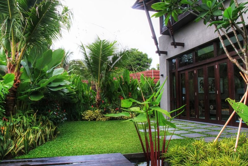 Modern Tropical Cheap Landscaping Ideas For Front Yard Small Backyard Landscaping Front Yard Garden