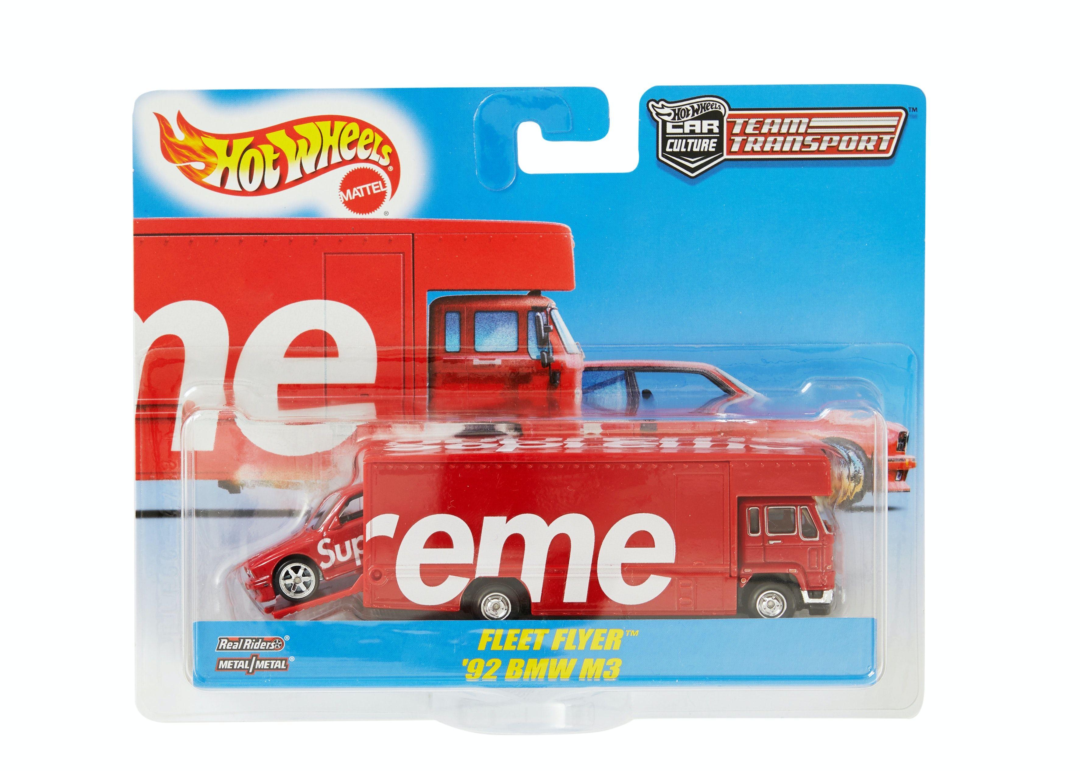 Supreme Hot Wheels Fleet Flyer 1992 Bmw M3 Red In 2020 Spring Summer Accessories Bmw M3 Hot Wheels