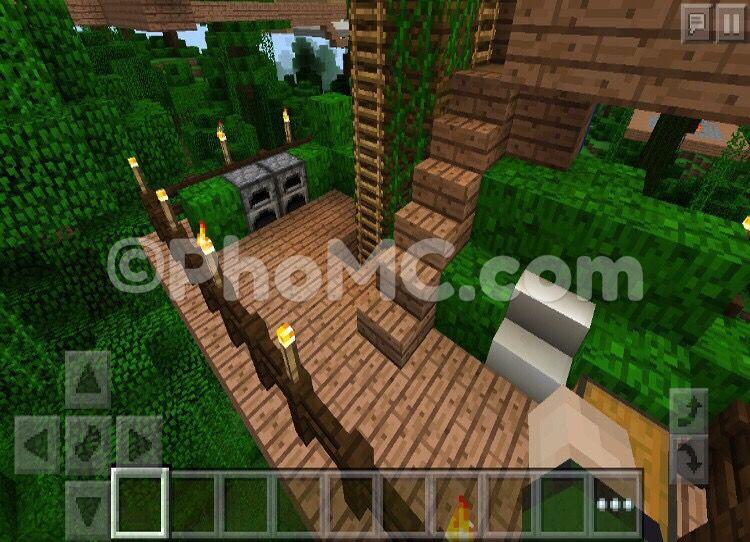 MCPE Cool Tree House