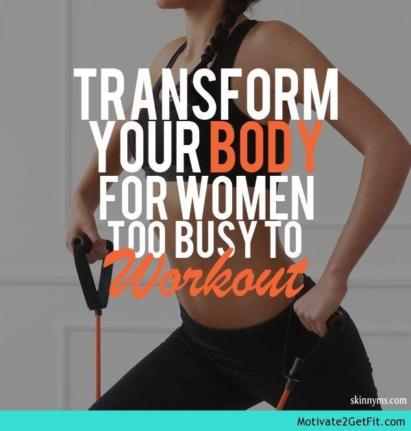 Total Body Transformation Program - Easy to Follow 12-Week Program