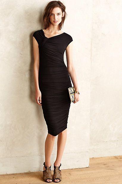 119bee7479a8 Apogeo Column Dress #anthropologie | La petite robe noire | Fashion ...