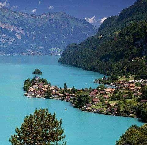 Lago Brienz Suiza Lugares Preciosos Lugares Hermosos Lugares De Europa
