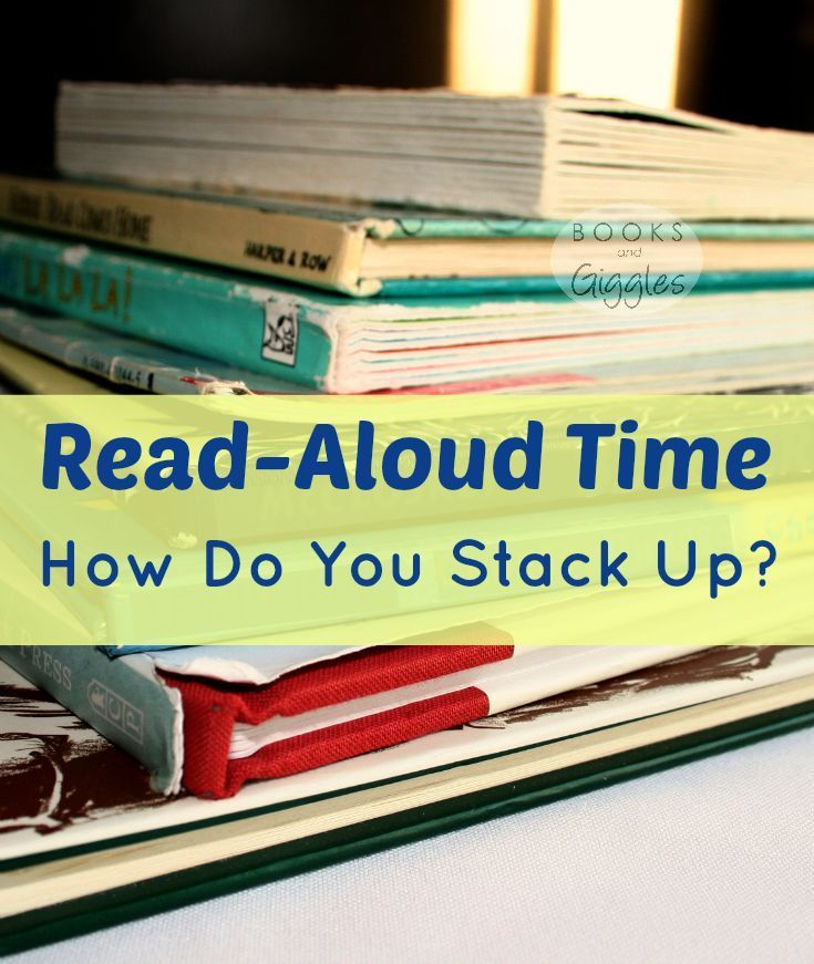 An informal survey of moms' read-aloud time, plus practical tips for fitting in reading time: