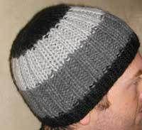 FREE Alpaca Ribbed Hat PDF Knitting Pattern #knitting #SweaterBabe.com
