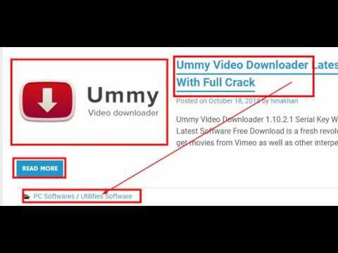 ummy video downloader free download filehippo