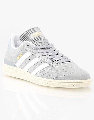 pretty nice 60c02 676fd Adidas Trainers, Price  GBP 61.99, Adidas Busenitz Pro Skate Shoes - Mid  Grey White Ecru
