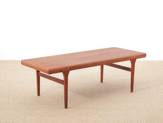 Scandinavian Teak Coffee Table by Johannes Andersen, 1960s ...