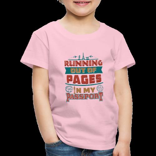 Travel with Passport - Kids' Premium T-Shirt   Custom ...