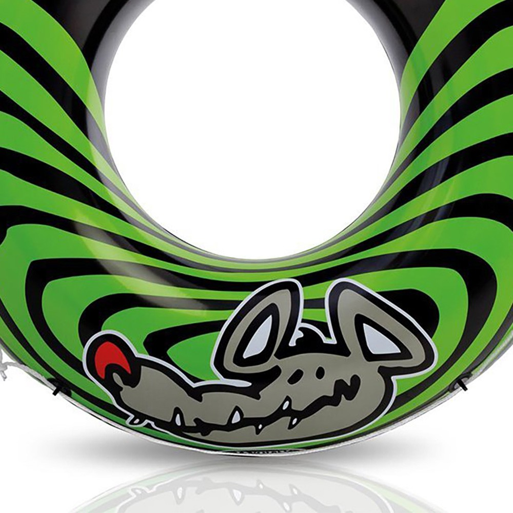 Intex River Rat 48 Inch Inflatable Tube Raft For Lake Pool Or