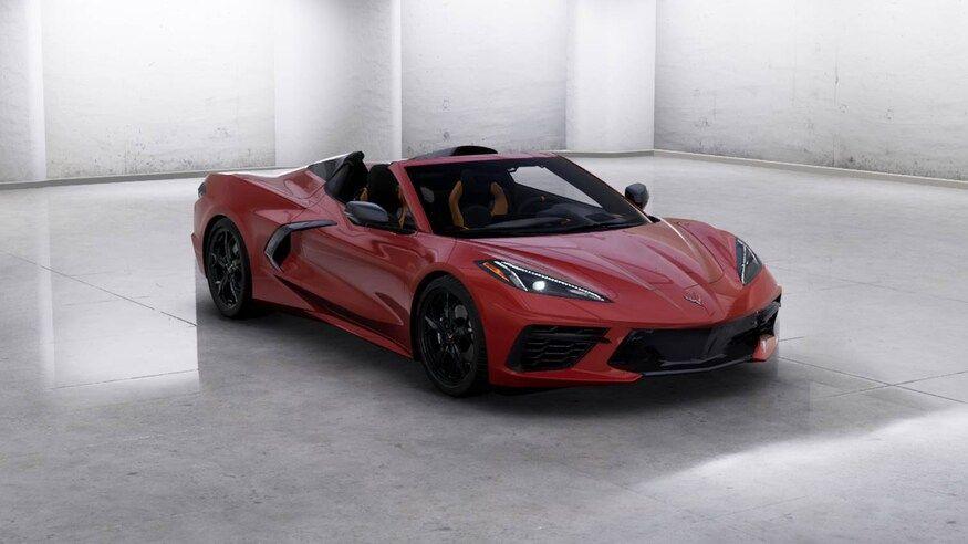 2020 C8 Corvette Convertible Here S How We D Build Ours Motor Trend Corvette Convertible Corvette Little Red Corvette