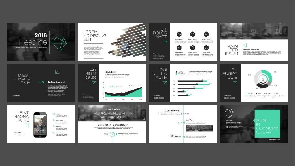 image result for powerpoint presentation design presentation inspo