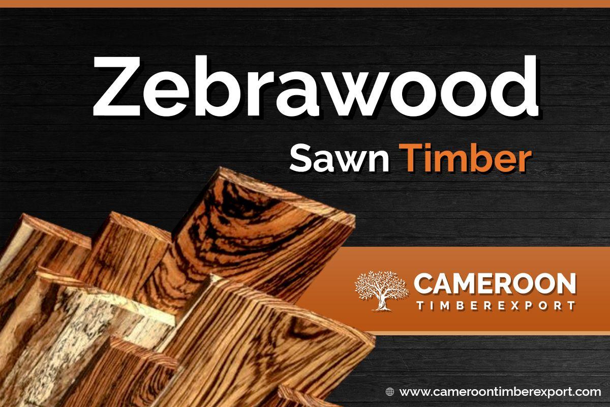 Zebrawood Supplier Sawn timber, Zebra wood, Hardwood lumber
