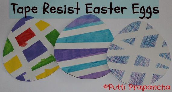 A simple activity for Easter that is easy to do and looks lovely too. playdrmom