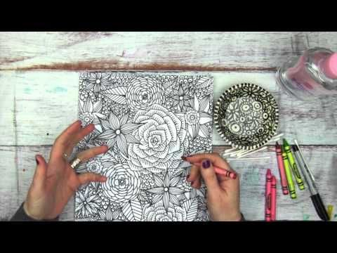 Episode 3 How To Use Colored Pencils To Color Mandalas Youtube Learn Art Colorful Drawings Coloring Books