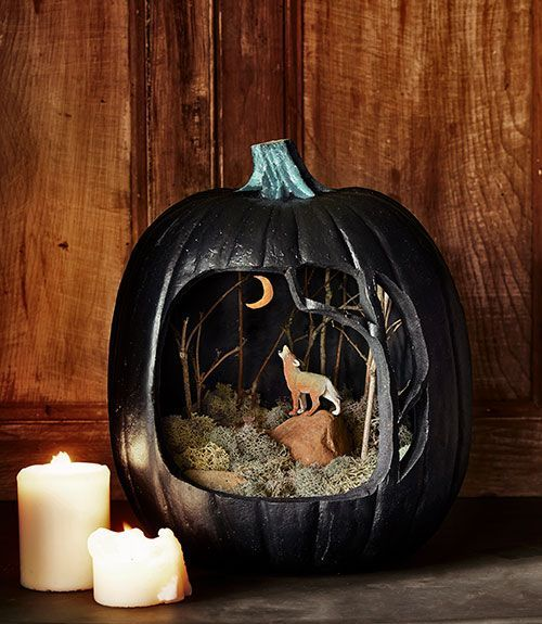I\u0027m not sure if wolves really howl at the moon I mean howling could - ways to decorate for halloween