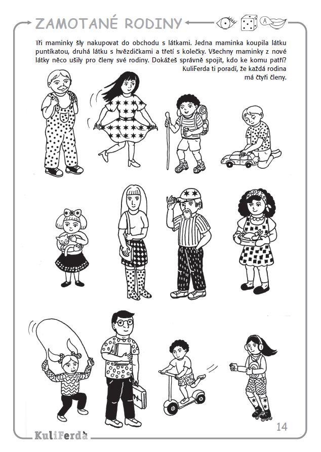 Pracovní sešity pro předškoláky KuliFerda | Preschool worksheets,  Preschool, Kids school
