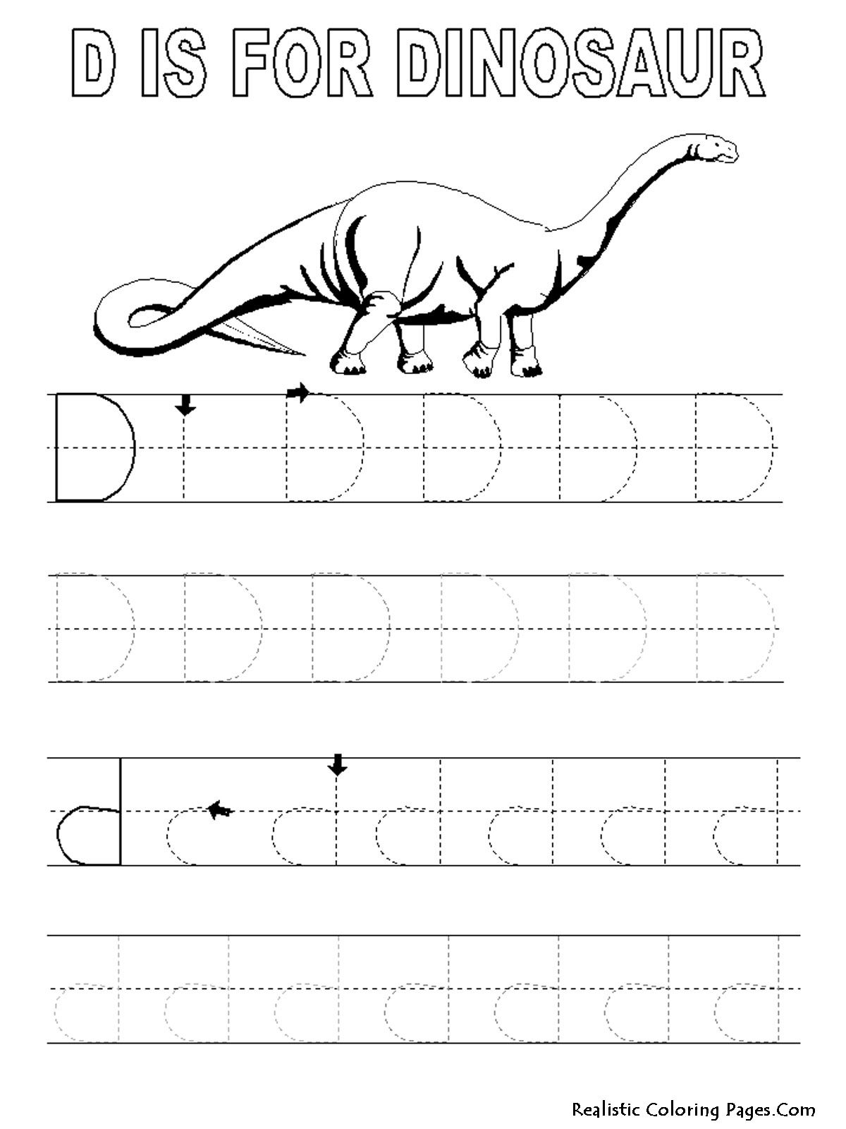Free Printable Alphabet Tracing