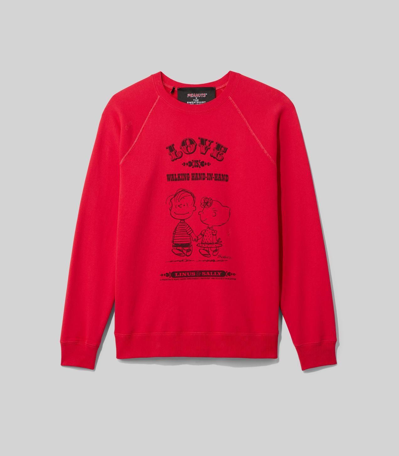 Peanuts X Marc Jacobs The Men S Sweatshirt Sweatshirts Mens Sweatshirts Printed Sweatshirts [ 1454 x 1272 Pixel ]